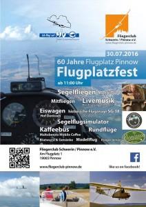 Plakat zum Flugplatzfest