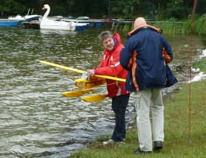 Wasserflugveranstaltung Godern am 29.5.2011