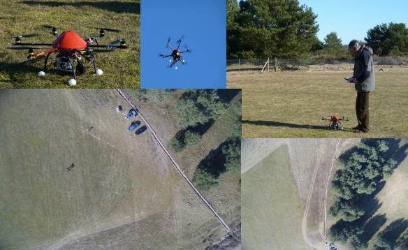 Der neue Wildzaun an unserem Modellfluggelände