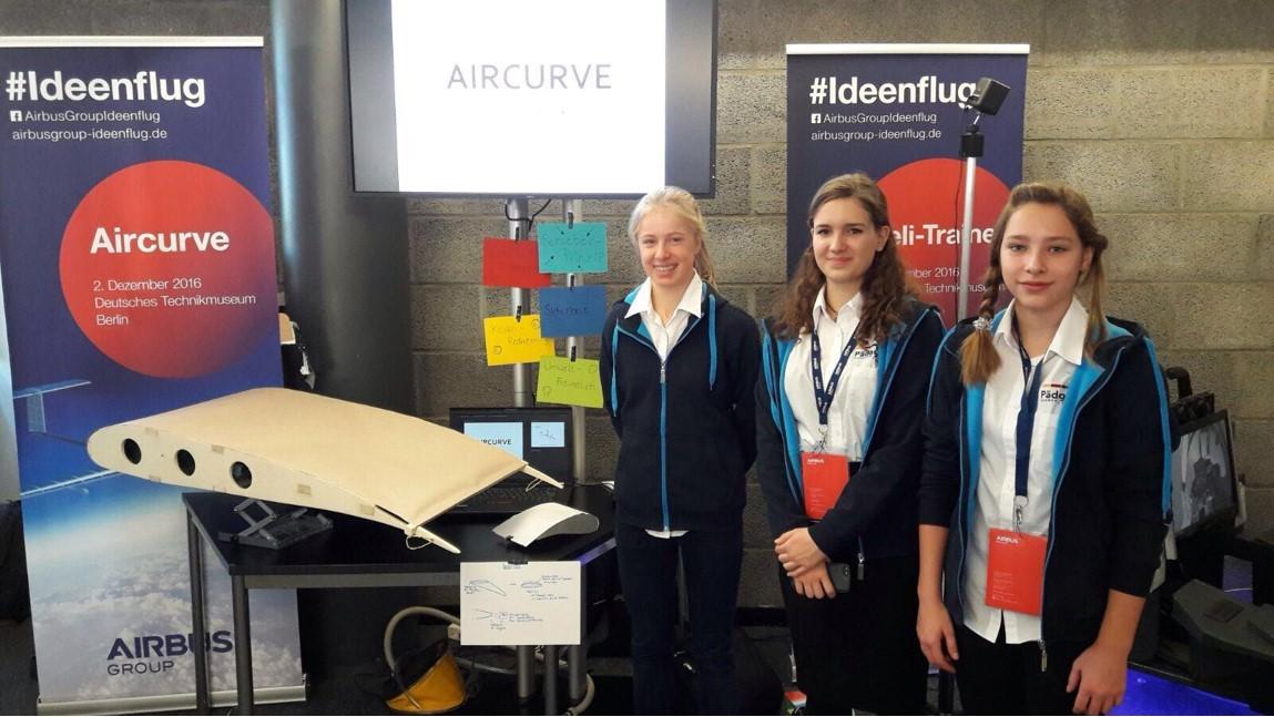 Brigitte Zypries trifft Gewinnerteam des Airbus Schülerwettbewerbs