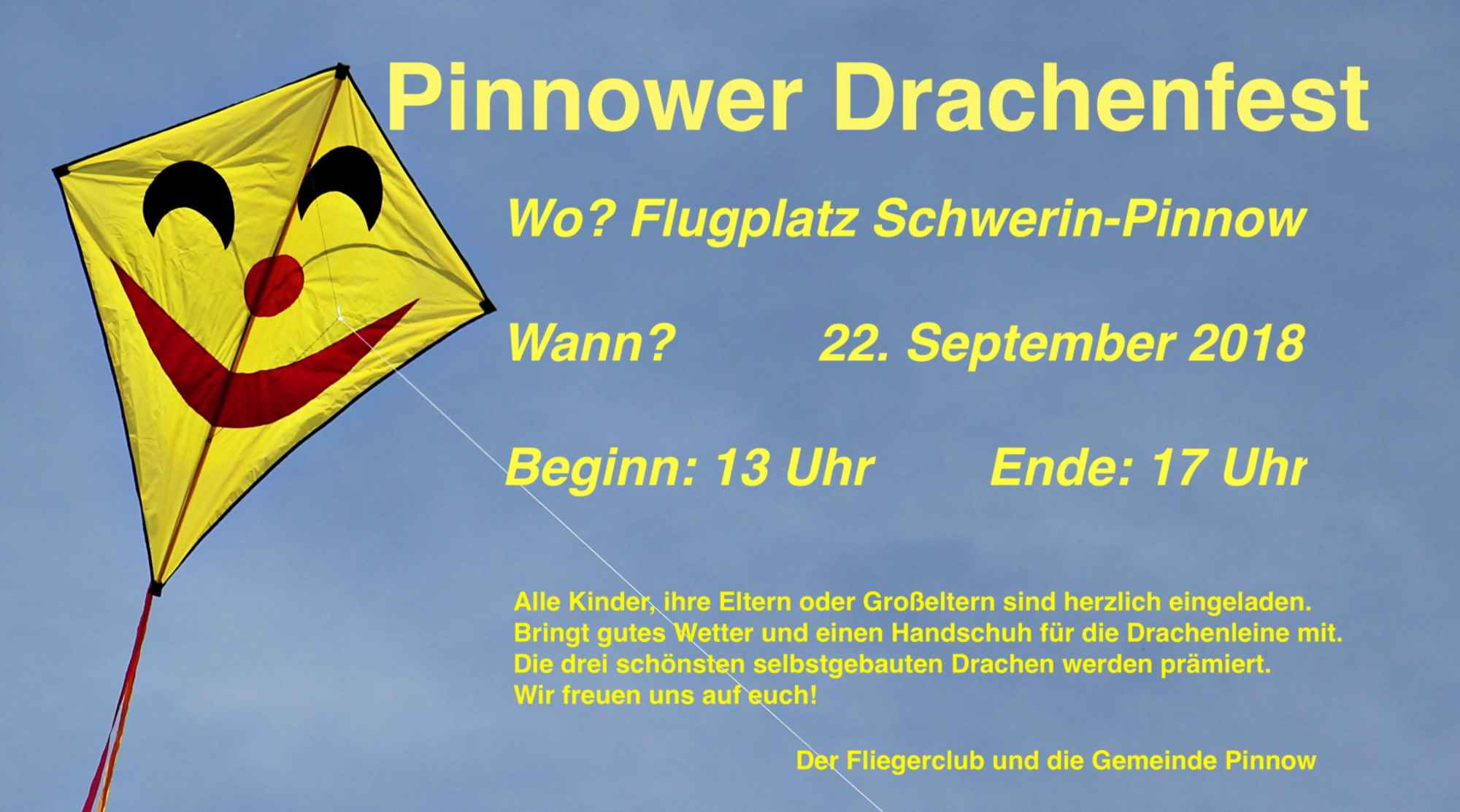 Drachenfest am 22. September